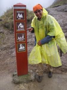 Jorge bij Warmihuañuska Inca Trail 4 dagen