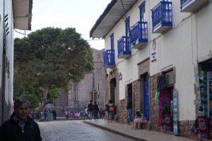 City Tour Cusco Uitzicht bij Saqsayhuman over Cusco
