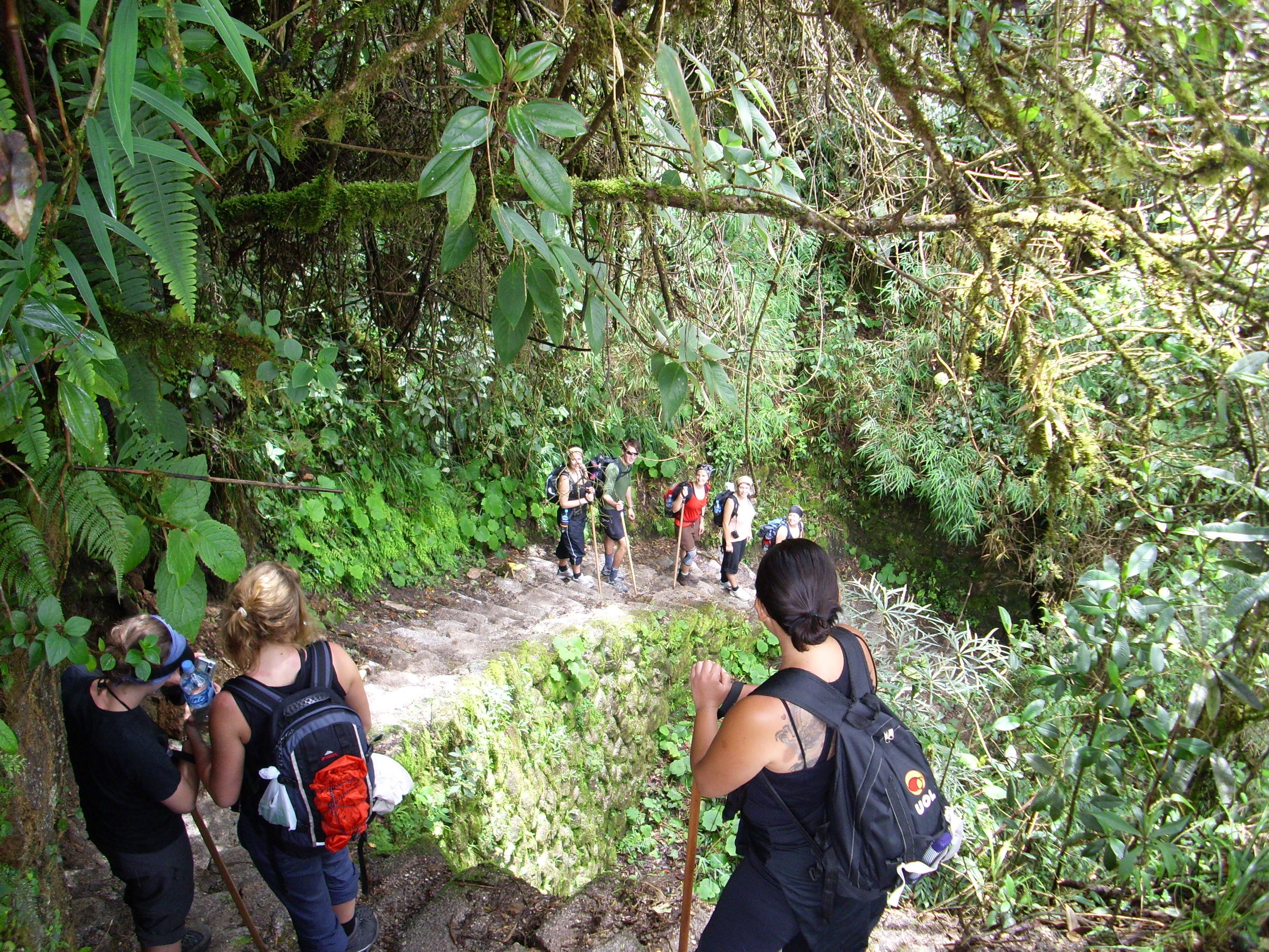 Inca Trail zwaar