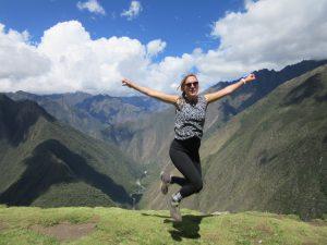 Inca Trail jump