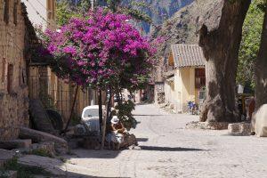 Gezellige straatjes in Ollantaytambo