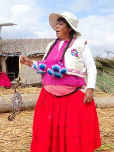 Uros eilanden Titicaca