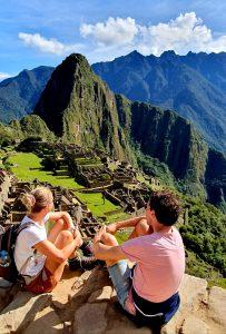 Huayna Picchu als hoogtepunt van Machu Picchu
