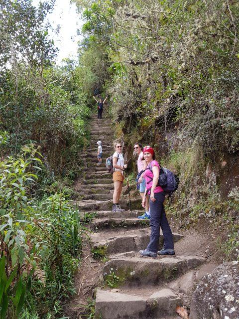 Onze tocht naar boven: Huayna Picchu
