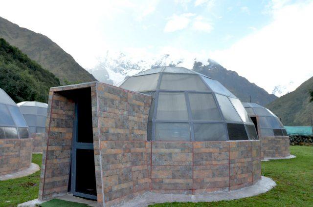 Programma Salkantay Trail: overnachten in een dome