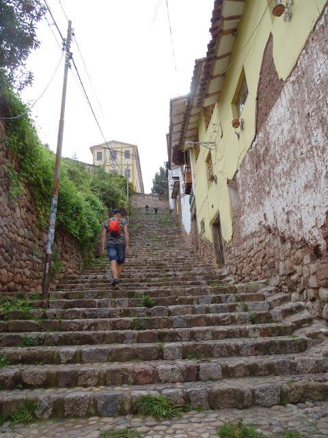 Rondreis Peru: wandelen door de kronkelende straatjes van Cusco