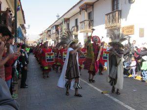 Inti Raymi in de straatjes van Cusco