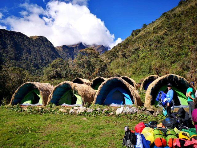 Salkantay Trail: overnachten in Andes hutjes