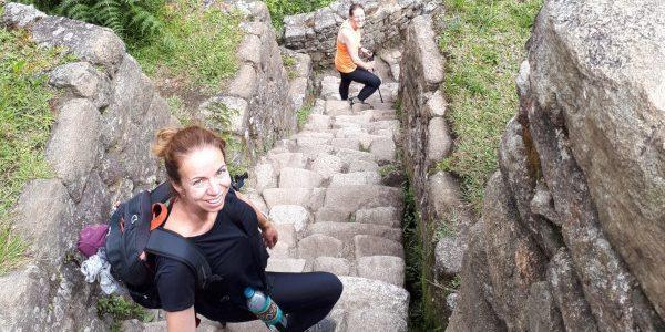 Huayna Picchu beklimmen